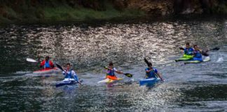 The Roaring River Race-Kayak