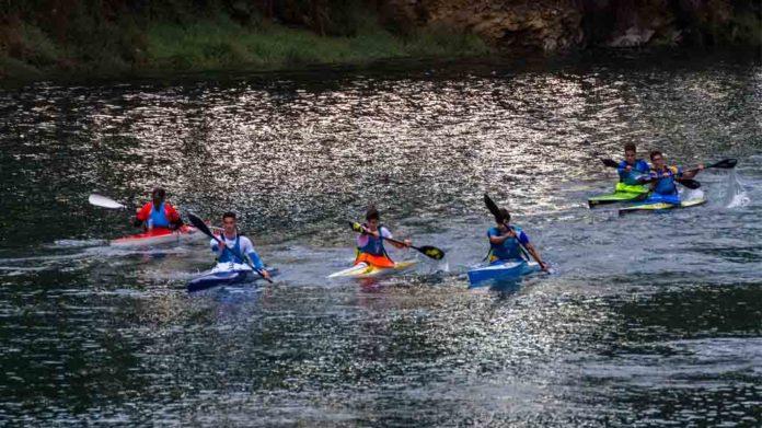 The Roaring River Race-Kayak