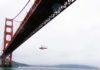 Helicopter Golden Gate Bridge